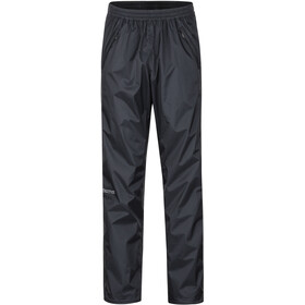 Marmot PreCip Eco Pantalones con cremallera completa Hombre, negro